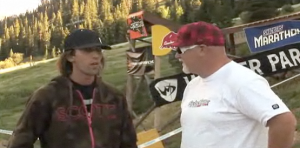 Kyle MCs at Crankworx CO