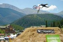 CO Freeride Fest finish jump