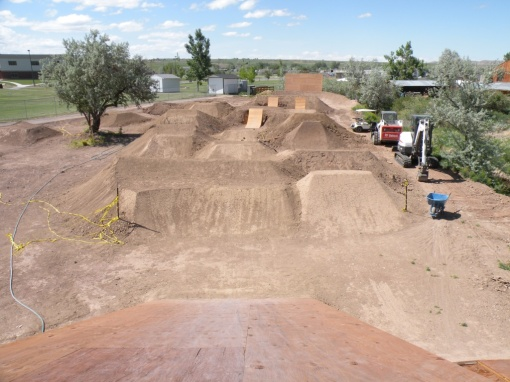 Lander WY Dirt Jumps